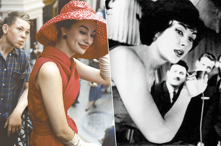Западные веяния в моде советских женщин