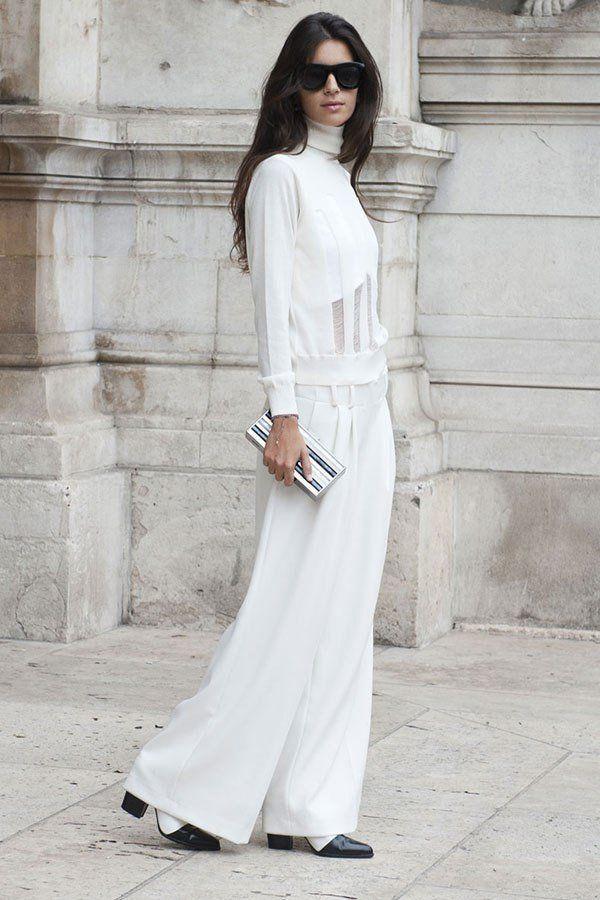 Как носить белое, когда холодно: 9 впечатляющих образов, фото № 9