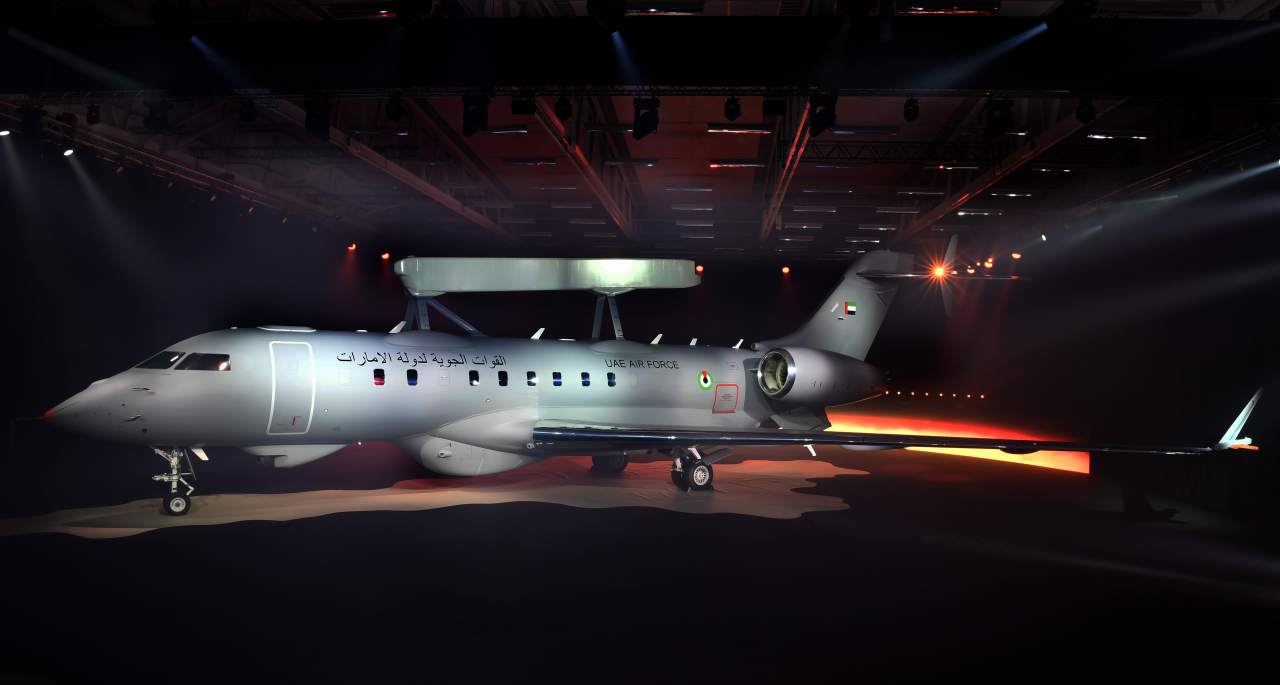 Первый самолет ДРЛО и управления GlobalEye для ОАЭ