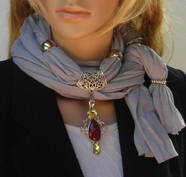 Стильные шарфы своими руками аксессуары,вдохновляемся,мода