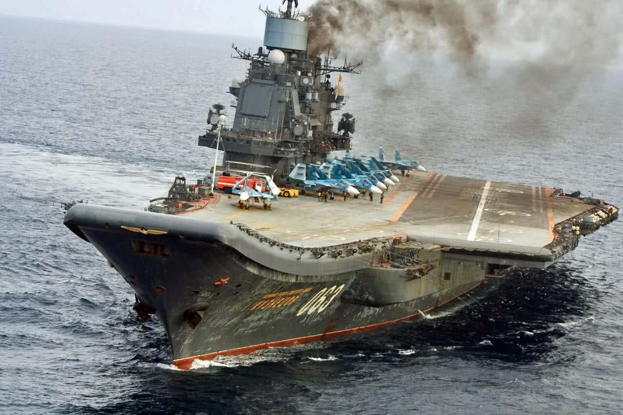 российские авианосцы фото древнейший