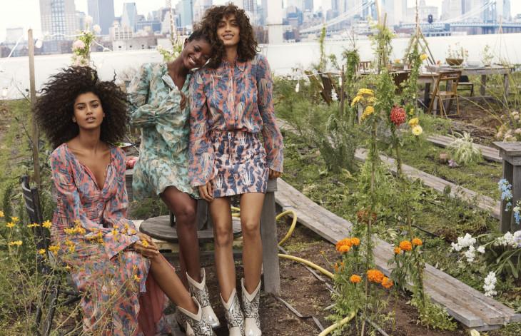 Коллекция Conscious Exclusive H&M съемка