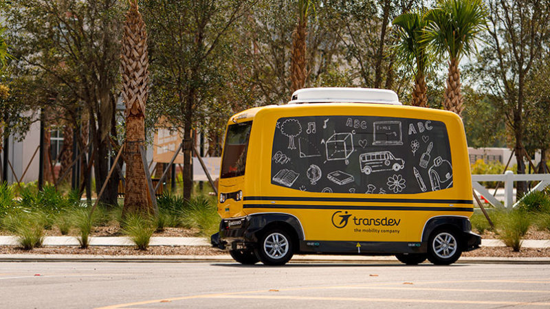 Запуск автономного школьного автобуса обернулся скандалом