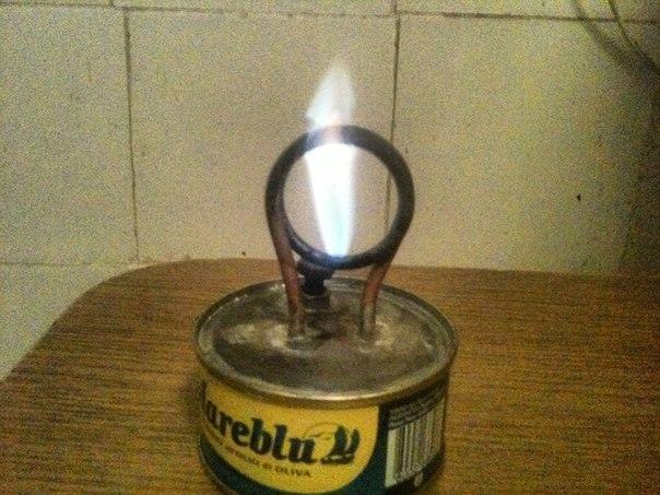 Идея спиртовой горелки