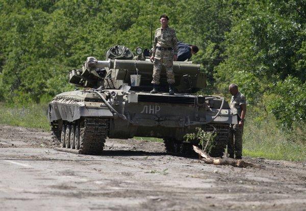 «Чёрный танк»: схватка ветер…