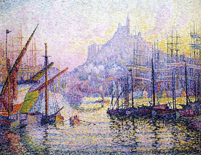 Марсель, Bonne Mere, 1906. Автор: Поль Синьяк.