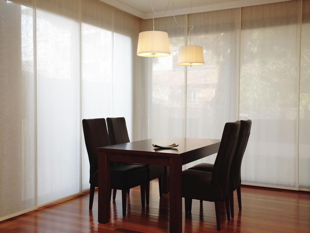 Японские шторы – лучшие идеи оформления интерьера-4