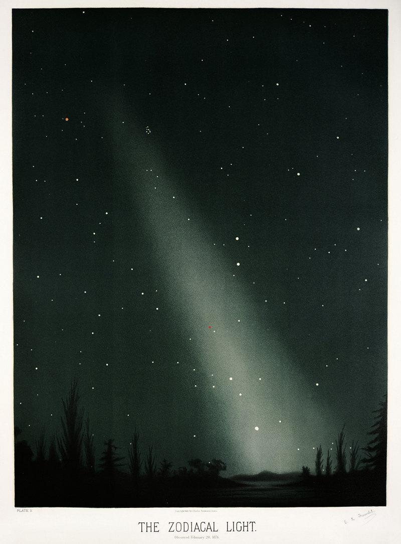 Старинные астрономические рисунки Этьена Трувело 13
