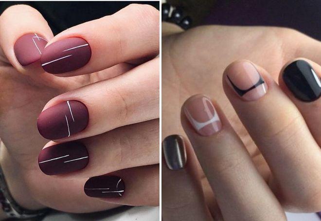 Шеллак на короткие овальные ногти 2019