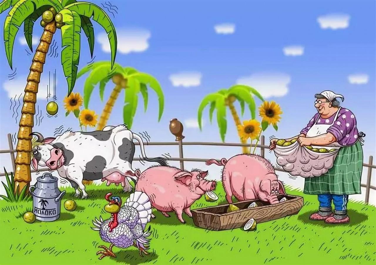Поздравления днем, сельское хозяйство картинки прикольные