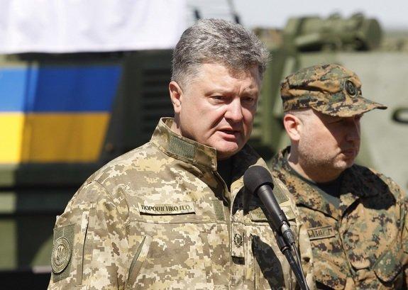 Порошенко решил отказаться от претензий на Крым и Донбасс, первый шаг уже сделан