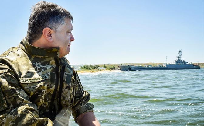 Киев - Москве: За Азов наш флот будет драться