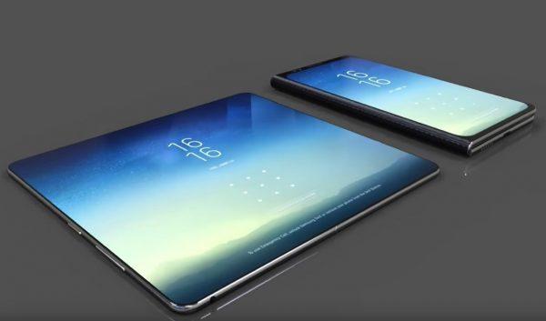 Samsung рассказала о новом складном телефоне Galaxy X