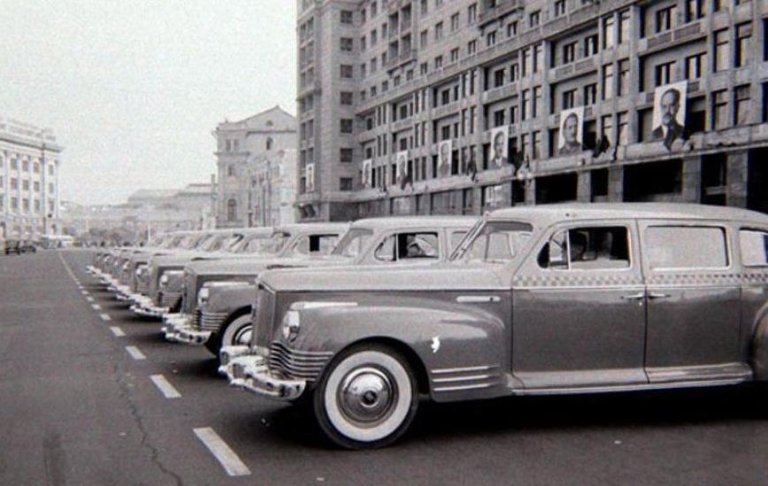 История службы такси в СССР довоенного времени