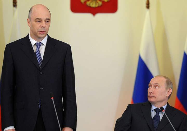 Силуанов и Путин