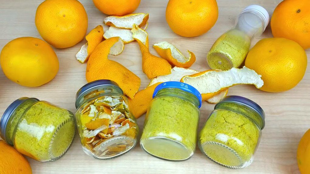 Неожиданные способы использования кожуры от мандаринов