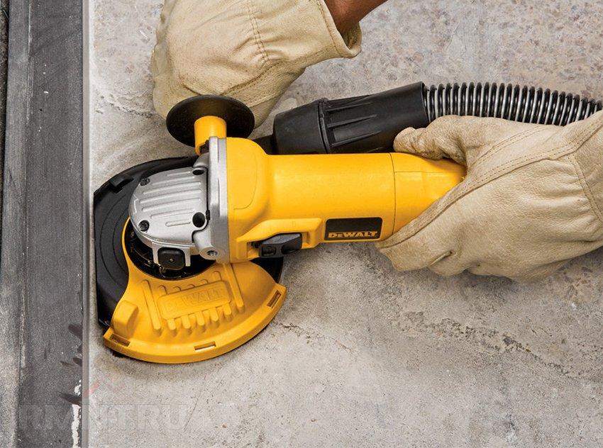 шлифмашина для бетона своими руками
