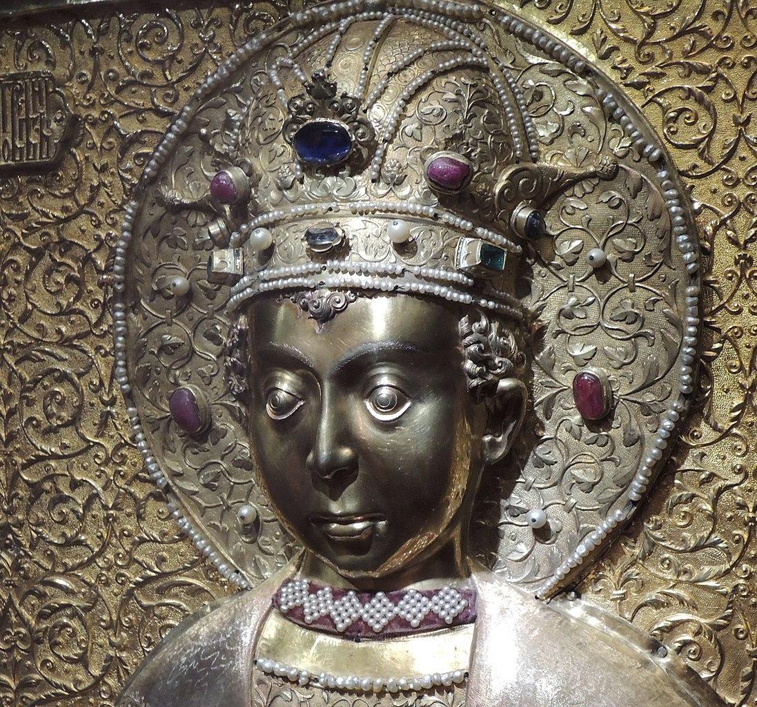 Древнерусская «маска Тутанхамона» — крышка раки царевича Димитрия