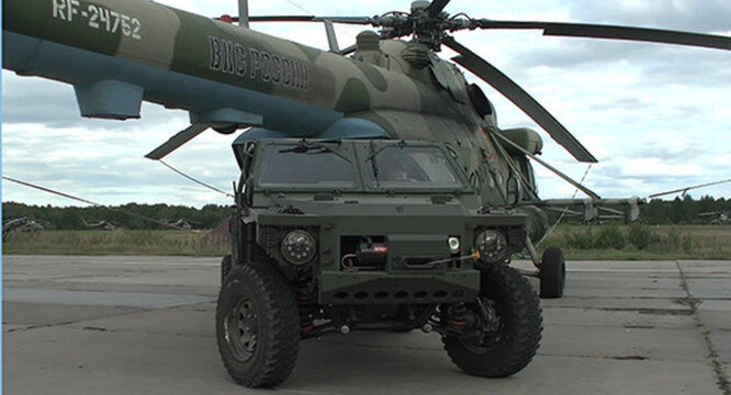 Военные испытания багги «Сармат-2» Автоновинки