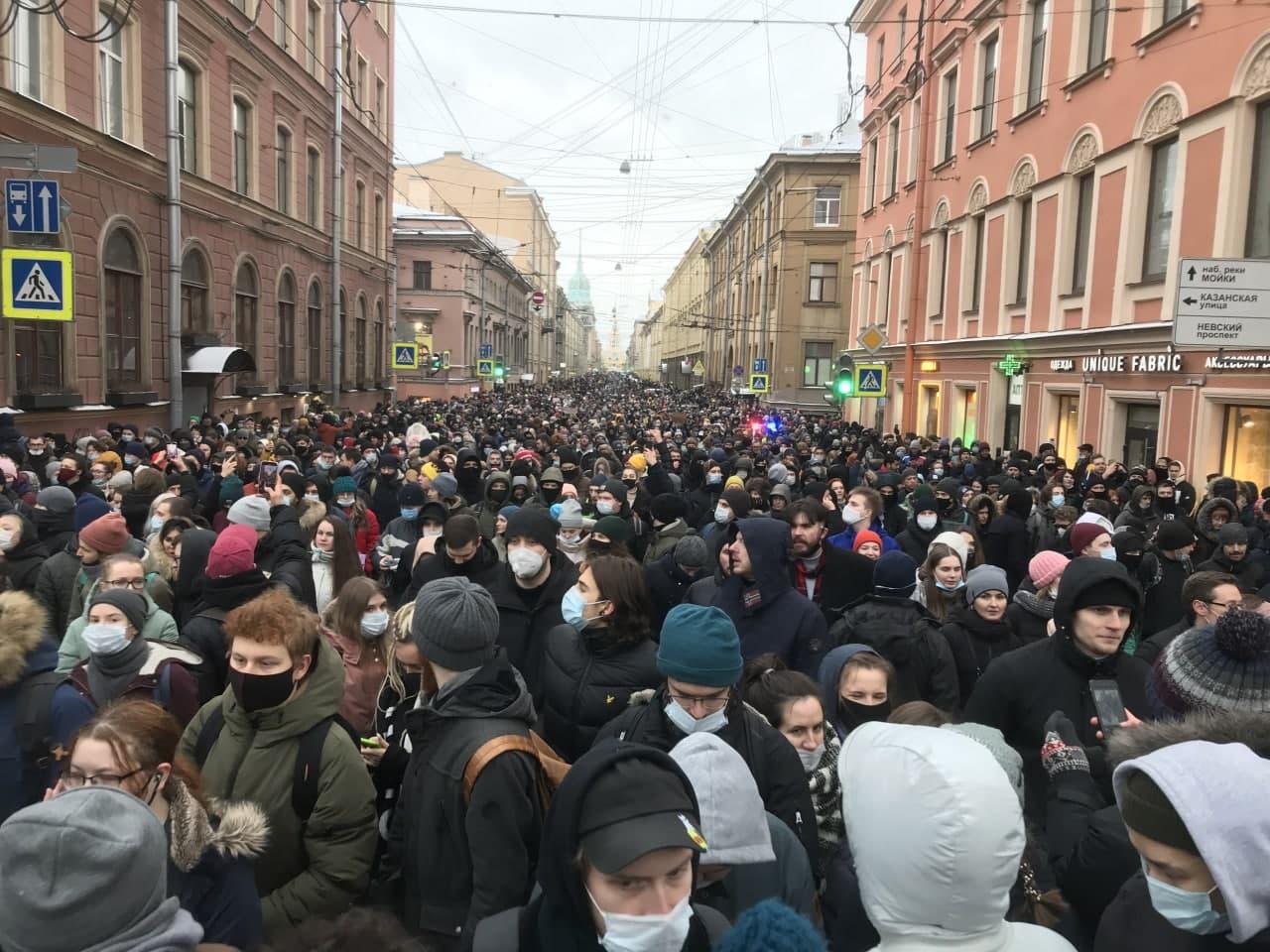 В ОП РФ отметили корректные действия полиции в ходе несанкционированной акции в Москве власть,протесты,россияне