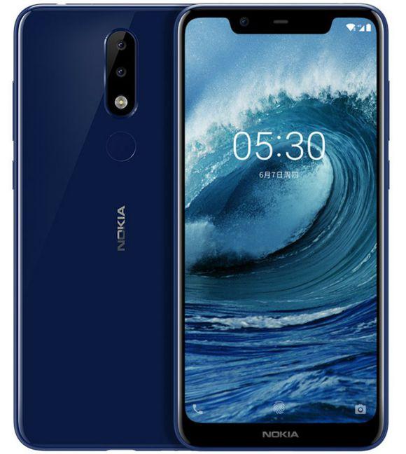 Безрамочный смартфон Nokia X…