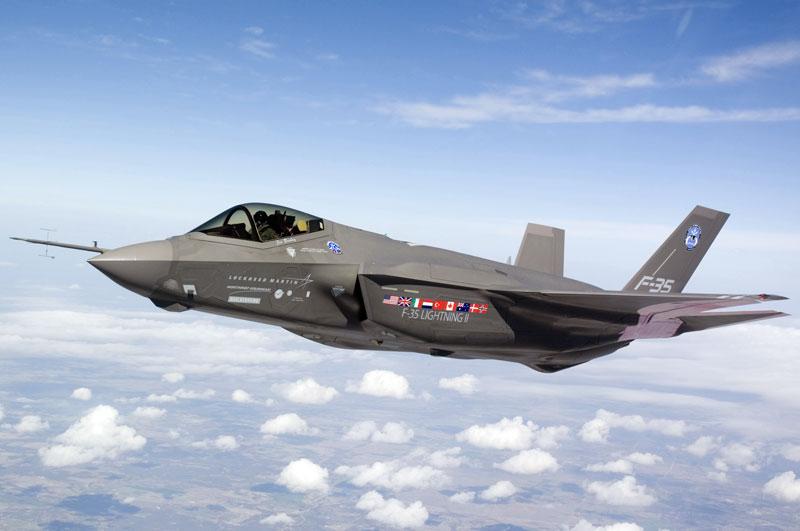 В США выпущен 100-й истребитель F-35
