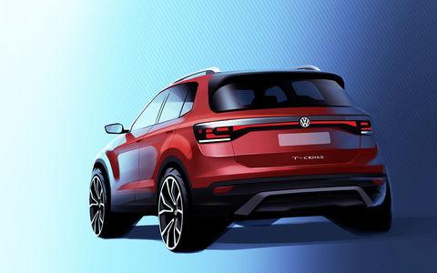 Самый маленький кроссовер Volkswagen: первые изображение и информация
