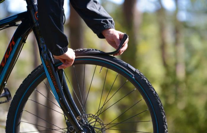 Революционные велосипедные шины, которые умеют