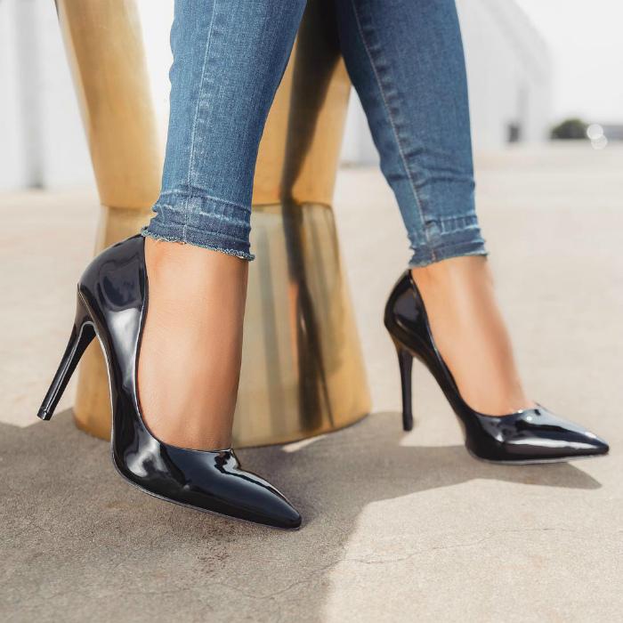Правильная примерка обуви.