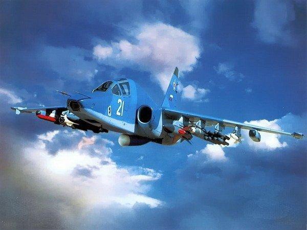 Штурмовик Су-39 - летающий танк