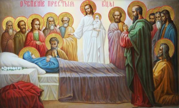 28 августа - Успение Пресвятой Богородицы.