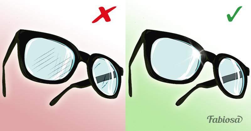 Если на ваших любимых очках появились царапины не спешите выбрасывать их. Есть 6 замечательных способов
