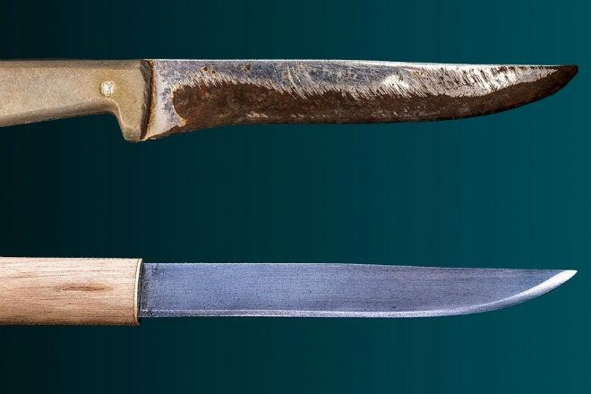 Легендарный Макири из кухонного ножа
