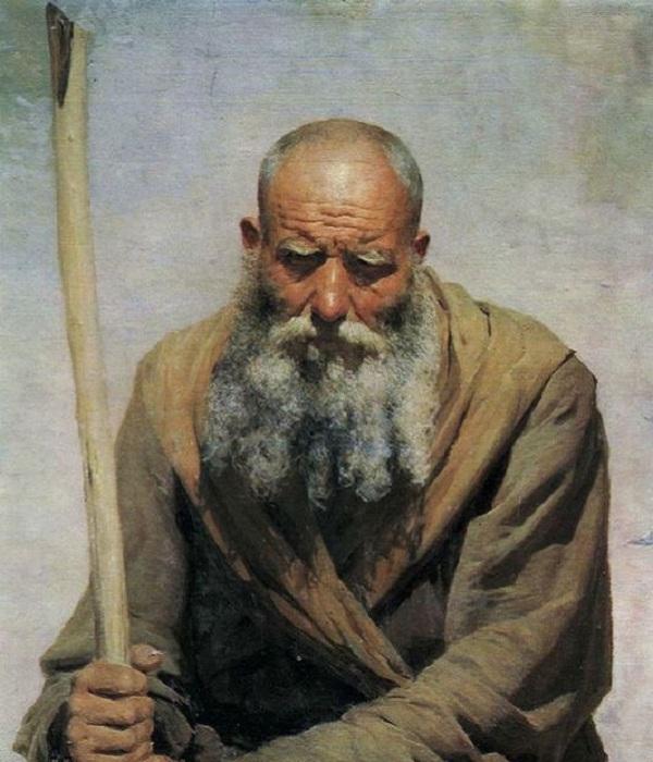 «Старик». Автор: Н. Ярошенко.