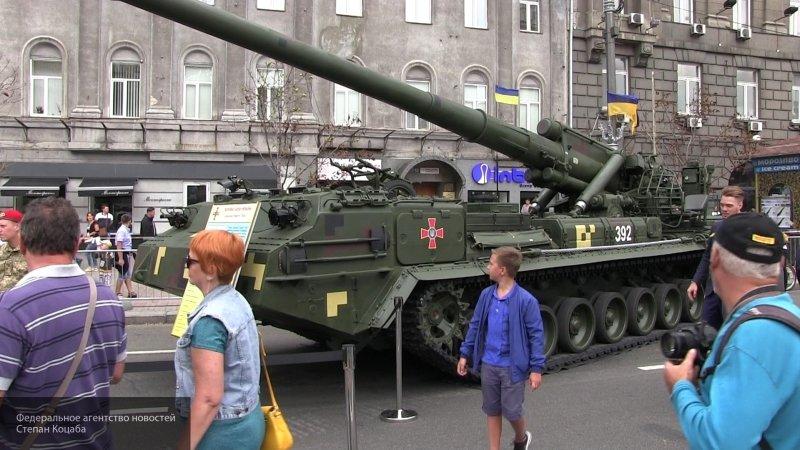 """Украина заявила о наличии оружия, способного дать отпор """"войскам РФ в Донбассе"""""""