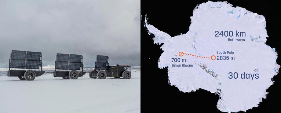 Багги Solar Voyager отправится к Южному полюсу на солнечной энергии автомобили