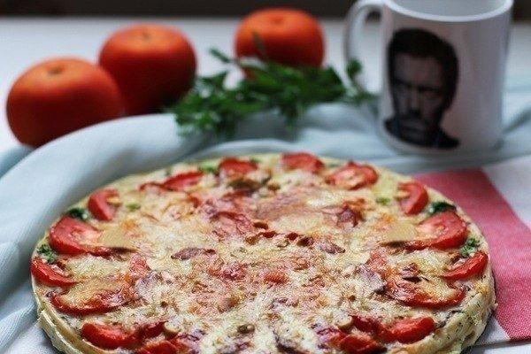 Французская кухня всегда удивляла: вкусный и быстрый киш с грибами и помидорами