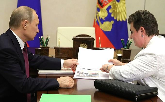 Рабочая встреча с губернатором Владимирской области Светланой Орловой -  НОВОСТИ НЕДЕЛИ