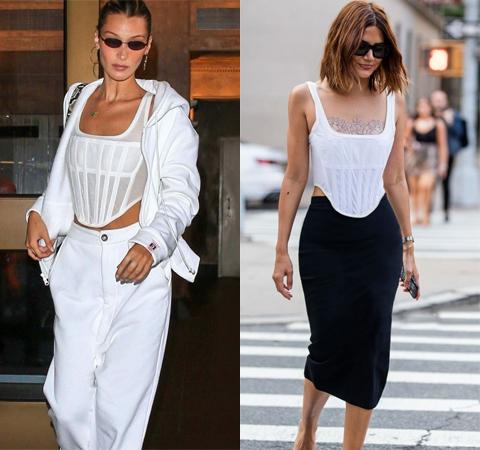 Модная битва: Белла Хадид против Кристин Сентенеры