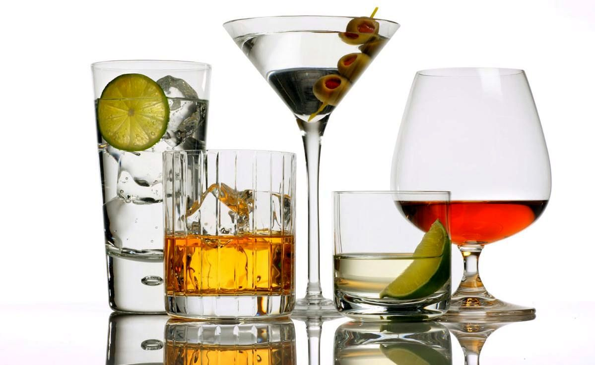 Какие алкогольные напитки мо…