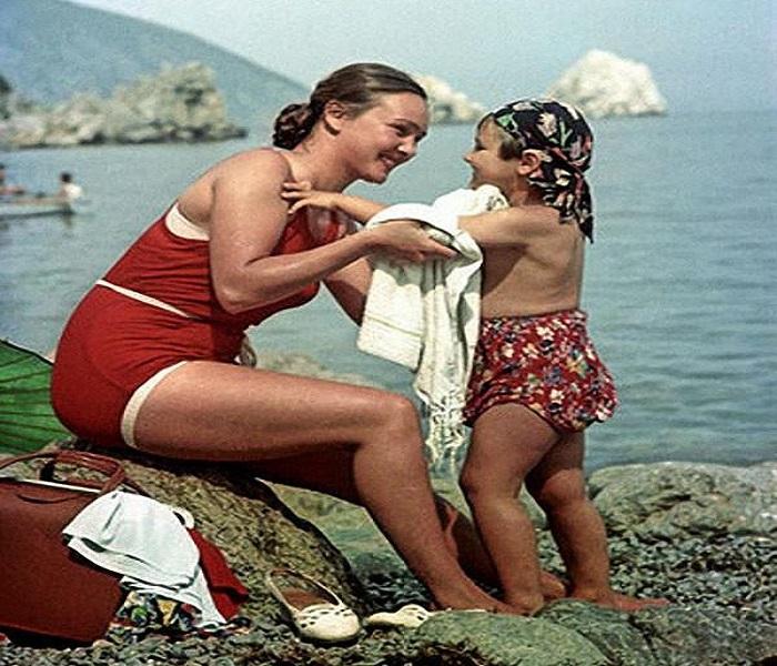 Лица, на которые приятно взглянуть: женщины в СССР!