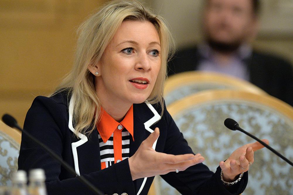 Захарова ответила украинскому министру, оскорбившему Донбасс