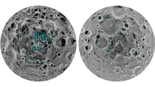 Первое прямое доказательство: NASA подтвердило залежи водяного льда на Луне