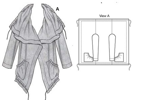 Сногсшибательные модели из одного куска ткани! Для тех кто не умеет кроить выкройка