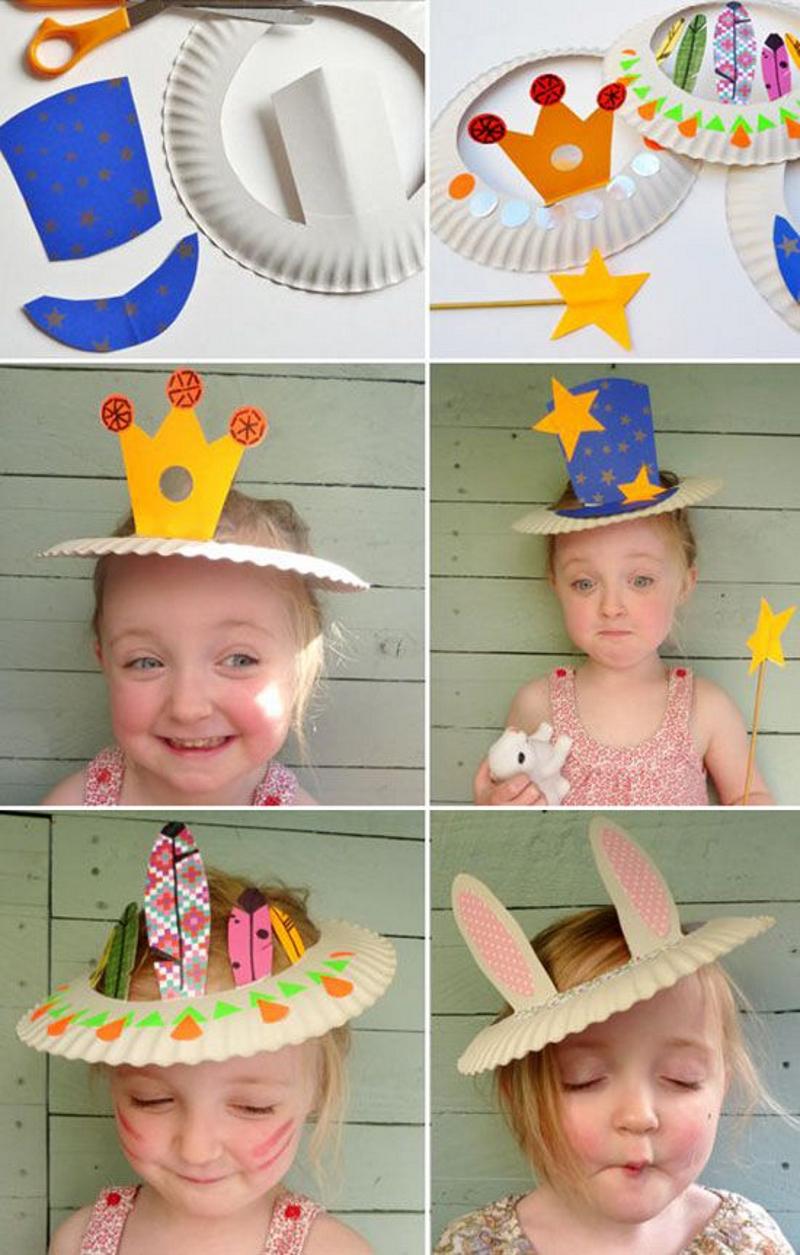 детские шапочки поделки