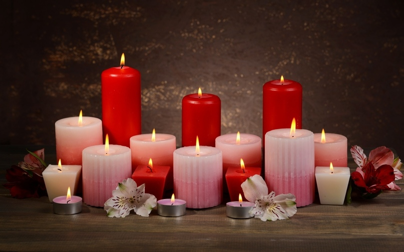 Очищение пламенем свечи и водой.