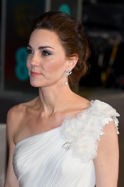 Светский вечер: Кейт Миддлтон и принц Уильям на премии BAFTA-2019 монархии