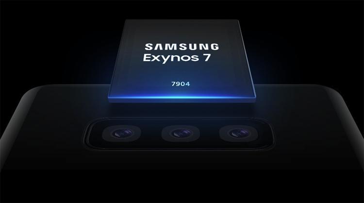 Процессор Samsung Exynos 7 Series 7904 рассчитан на смартфоны среднего уровня