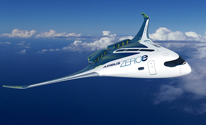 Новый Аэробус не будет иметь хвоста, а сам будет похож на одно большое крыло Культура