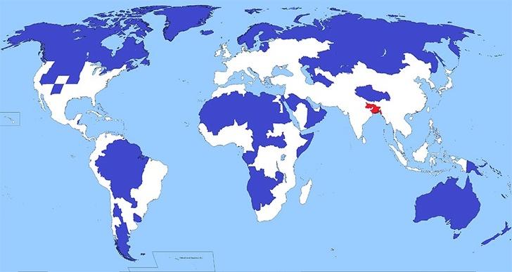 20+ карт мира, которые увлекут даже тех, кто в школе терпеть не мог географию